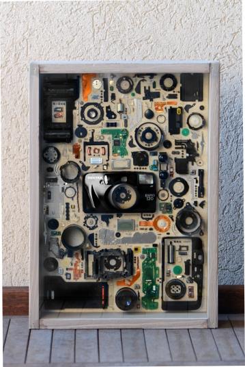"""Pentax Espio 120 Black 11x15"""" - $350"""